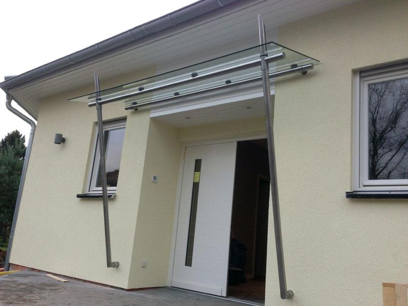 Vordach Sonderbauten - Straub Vordach-Design